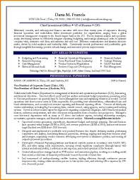 Finance Objectives Mba Resume Sample 2016 Examples