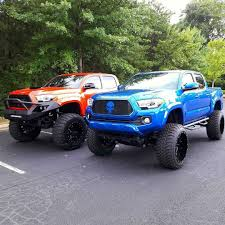 Lifted Toyota Tacoma Modified W/ Aftermarket Suspension | Dream Cars ... Used Lifted 2017 Toyota Tacoma Trd 4x4 Truck For Sale 36966 Tacoma Lift Google Search Pinterest Pin By Mr Mogul On Trucks Marketing Media Why Buy A Muller Clinton Nj Single Cab Images Pinteres Pro Debuts At 2016 Chicago Auto Show Live Photos Tundra Stealth Xl Edition Rocky Ridge Toyota Ta 44 For Of 2018 Custom In Cement Grey Consider The Utility Package A Solid Work