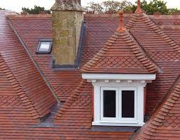 dreadnought brown antique plain clay roof tiles architecture