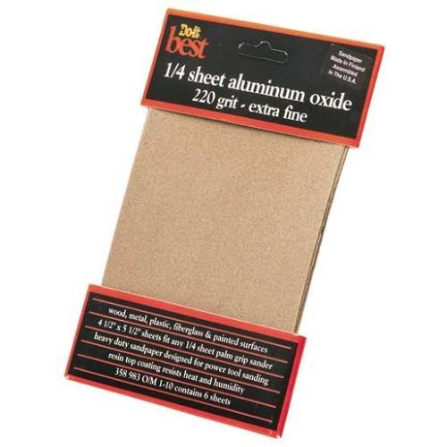 Do It Best Sandpaper - 220 Grit