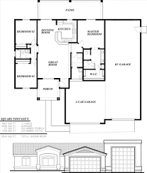 Homes With Rv Garage Floor Plans Home Desain 2018 Cottages Apartment G St Plansingl