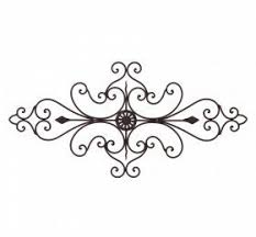 TUSCAN WROUGHT IRON METAL 32 SCROLL WALL GRILLE Cheap Chic Decor 4499