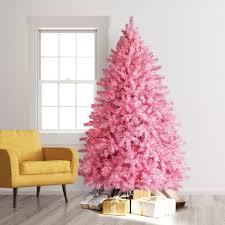Pretty Pink Pre Lit Christmas Tree