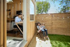 Tiny Backyard Studio Lets Architect Keep An Eye On His Kid - Curbed Backyard Studio Ideas Photo Albums Perfect Homes Interior Design Why Studio Shed Backyard Design Love For The Outdoors Tiny Home Office With Deck And Table 2015 Fresh Faces Cover Custom Studios Architect Builds A Tiny Studio In His Backyard To Be Closer Amys Landscape Garden I Small Sloped Front Yard Landscaping Plans Office Architecture 808 14 Inspirational Offices And Guest Houses