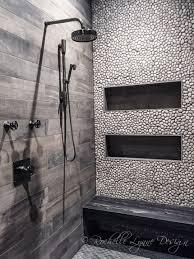 river rock shower floor sealer reviews wood look tile and
