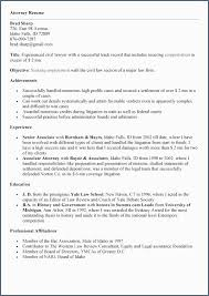 Experienced Attorney Resume Samples Superb Examples Objective New Good Resumes Beautiful