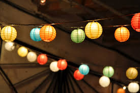Chinese Lanterns With Lights AUTOUR