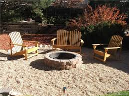 Pea Gravel Patio, Adirondacks, Fire Pit, Large Cobble Border ... Add Outdoor Living Space With A Diy Paver Patio Hgtv Hardscaping 101 Pea Gravel Gardenista Landscaping Portland Oregon Organic Native Low Maintenance Pea Gravel Rustic With Firepit Backyard My Gardener Says Fire Pits Inspiration For Backyard Pit Designs Area Patio Youtube 95 Ideas Bench Plus Stone Playground Where Does 87 Beautiful Yard In Your How To Make A Inch Round Rock And Path Best River 81 New Project