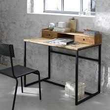 bureau maison du monde bureau metal bois bureau pite bureau bois metal maison du monde
