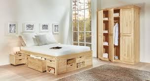 günstiges komplett schlafzimmer aus kiefer oslo betten at