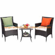 [Hot Item] 3 Pieces Patio Furniture Set Outdoor Wicker Conversation Set  Cushioned PE Wicker Bistro Set Rattan Chairs With Coffee Table Porch, ... Americana Wicker Bistro Table And Chairs Set Plowhearth Royalcraft Cannes Brown Rattan 3pc 2 Seater Cube Breakfast Ceylon Outdoor 3piece By Christopher Knight Home Hampton Bay Aria 3piece Balcony Patio Sirio Valentine Swivel Ellie 3 Piece Folding Fniture W Round In Dark Outdoor Cast Alinium Rattan Ding Sets Georgina With Cushions Wilko Effect