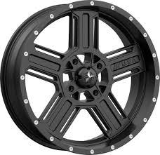 100 20 Inch Truck Tires Satin Black Motosport Alloys M32 Axe Tire And Wheel Kits