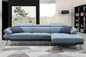 sofa hwc h92 ecksofa l form 3 sitzer liegefläche rechts blau grau