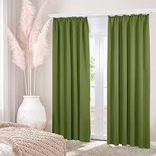 pandawdd gardinen vorhang vorhänge wohnzimmer 2er set