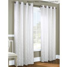 Bed Bath And Beyond Blackout Curtains by White And Grey Curtains And Grey Living Room Ideas Amazing White