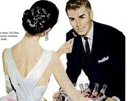 1957 Pepsi Cola Advertisement Vintage Fifties Fashion Dovima Dorian Leigh Pin Up Illustration Soda Pop Drink
