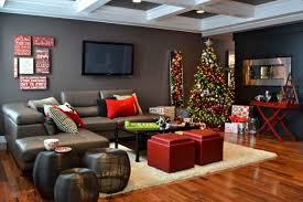 Christmas Decoration On The Wall In Living Room Aecagra Org