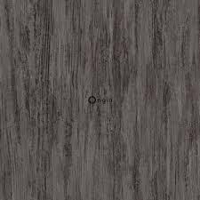 347419 Wallpaper Wood Effect Dark Gray