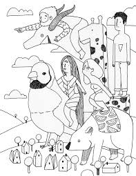Doodlers Anonymous Epic Colouring Book Published By The Monacelli Press 2015 Adventurers Vol3