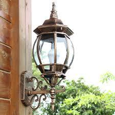 aluminum outdoor wall lights garden path coach wall hanging lights