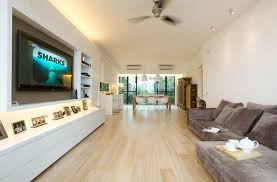 light oak floor with velvet sofa set for contemporary living room