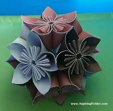 Perfect Simple Paper Cutting Flowers Gift