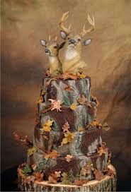 Camo Wedding Cake Buck And Doe Great For A Grooms That Hunter Who Loves His Deer Oops Dear