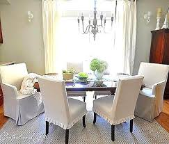 Wonderful Dining Chair Covers Fun Ideas Rs Projects Idea White Room Beautiful Slipcovers Short Images Home
