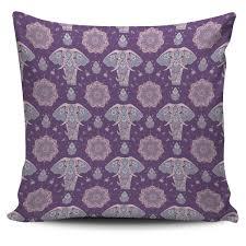 Zen Elephant Pillow Cover Groove Bags