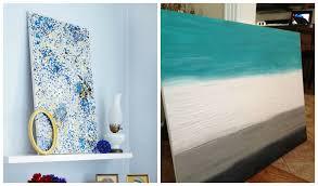 Creative Easy Diy Canvas Wall Art Ideas