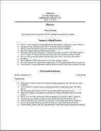 Sample Resume For Truck Driver Trucking Position