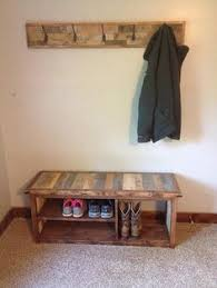 Are You Looking For A Way To Organize Your Entry Mud Room Or Garage Use This Rustic Shoe Bench As Of Organizing Shoes While Adding Country