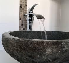 das etwas andere waschbecken waschbecken flussstein