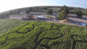Pumpkin Patches Near Chico California by Country Pumpkins Corn Maze Aerial Video Youtube