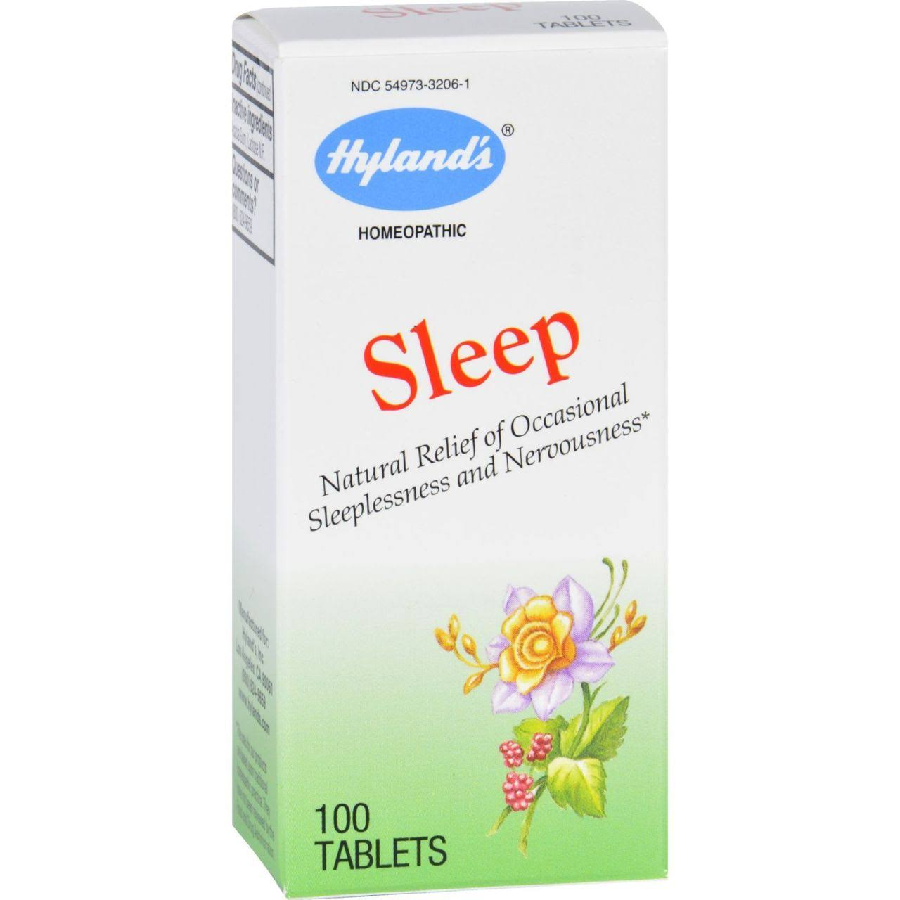 Hyland's Sleep Tablets - 100 count