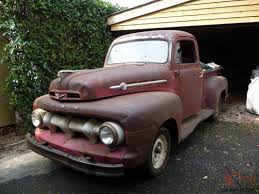 100 Ford F1 Truck Pickup 1952 Shark Tooth Front The Rare One UK