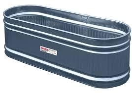 Galvanized Stock Tank Bathtub by Amazon Com Behlen Country Re226c Galvanized Steel Round End