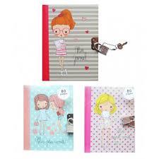 intimate journal carnet secret cadenas 2 keys 80 pages