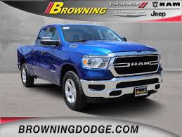 100 Blue Dodge Truck New 2019 RAM AllNew 1500 Tradesman Quad Cab In Norco 9954093