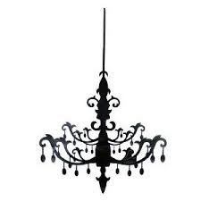 Chandelier Clipart Cartoon Pencil And In Color Blue Clip Art