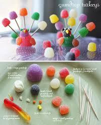 Hand Prints Paints Gumdrop Turkey Steps Craft Ideas And Paper Bag Tutorial 4
