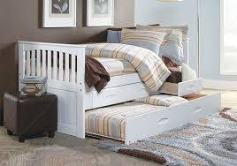 Forrester White Twin Trundle Bed Badcock Home Furniture & More