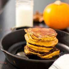 Vegan Bisquick Pumpkin Pancakes by Pumpkin Pancakes Tastespotting
