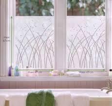 milchglas fensterfolie fenstersticker gräser 2 blatt 67 x