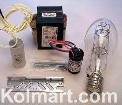 100 watt high pressure sodium ballast and l kit s54 120v medium