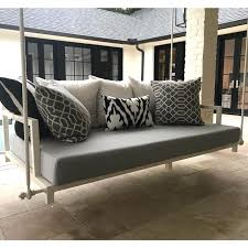 Custom Outdoor Glider Porch Swing Cushion Outdoor Fabric Central