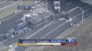 Overturned Tractor-trailer Spills Debris On I-95 North In Mercer ... Paramus School Bus Accident Truck In Another Crash 2 Years Ago New Jersey Bus Crash Kills Injures 43 The Latest Time Traffic Alerts West Essex Now Accident Injury Lawyer Two Dead Injured Torn Apart Dump Wreck On Turnpike Leaves Driver Hurt Nbc 10 11815 Nj I95 Black Ice Trailer Flip Youtube Victims Identified Fatal Route 33 Monroe County Dead Dozens Obliterating School Sources Police Id Drivers That Killed Teaneck Family