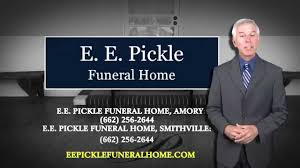 Pickles Funeral Home Amory