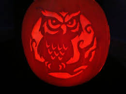 Ariel On Rock Pumpkin Carving Pattern by My Owl Barn Collection Owl Carved Pumpkins Halloween