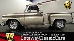 1966 Chevrolet C10 Stepside Pickup - Louisville Showroom - Stock ...